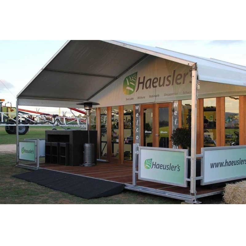 Haeuslers, Sign Event Ideas, Pattis Hire