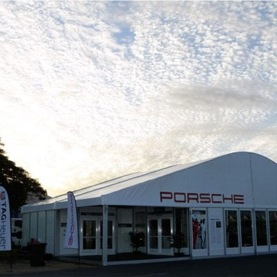 15m x 10m Premium Porsche, Pattis Hire