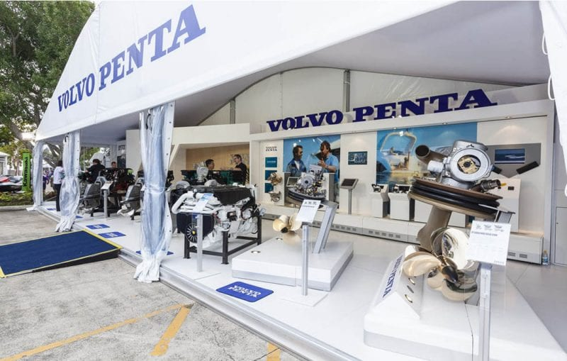 15m x 5m Premium Volvo Penta, Pattis Hire