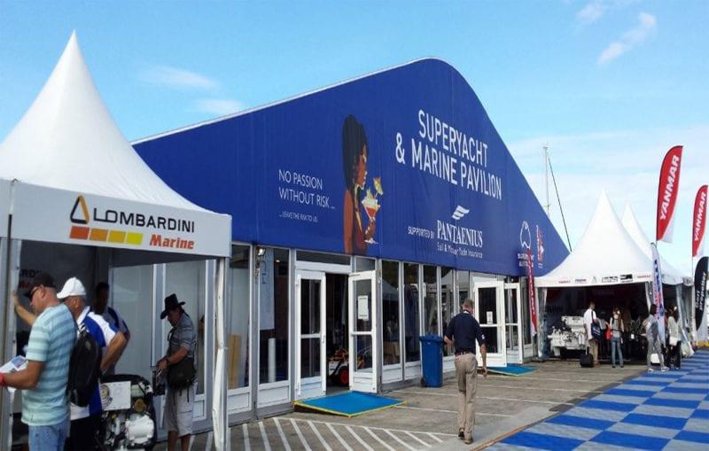 30m Premium Superyacht Pavilion, Pattis Hire